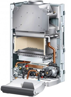Устройство газового котла Protherm Гепард