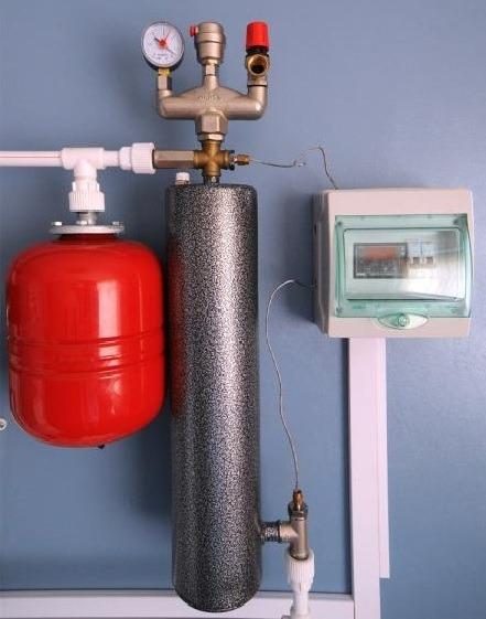 Пример подключения индукционного котла