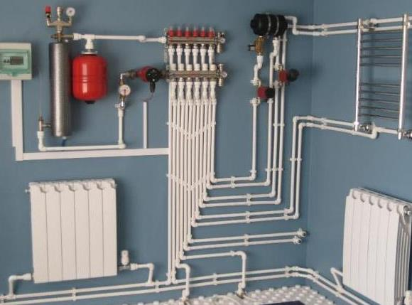 Система отопления с индукционным нагревателем