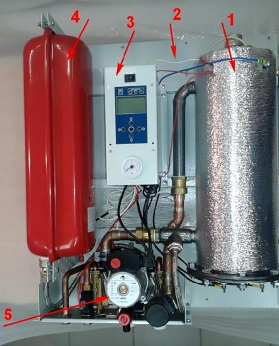 Двухконтурный агрегат с насосом