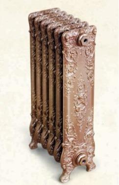 Декоративный чугунный радиатор