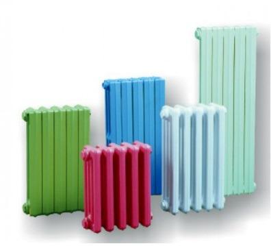 Цветные чугунные радиаторы