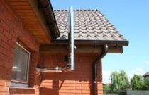 дымоход для газовой колонки