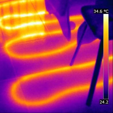 Напольное отопление в инфракрасном диапазоне