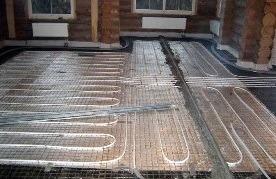 Монтаж теплого пола в деревянном доме