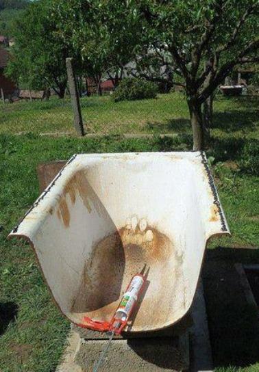 чугунная ванна для печи