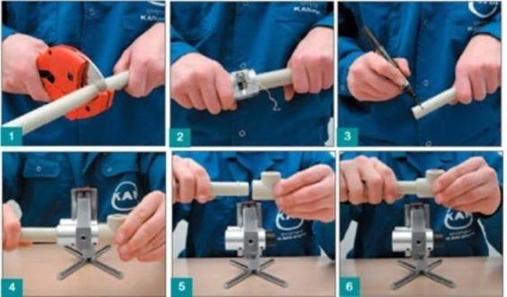 Инструкции по пайке полипропиленовых труб