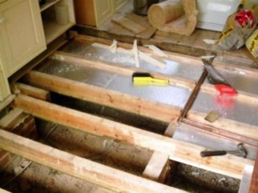 Как сделать теплые полы под деревянным полом 120