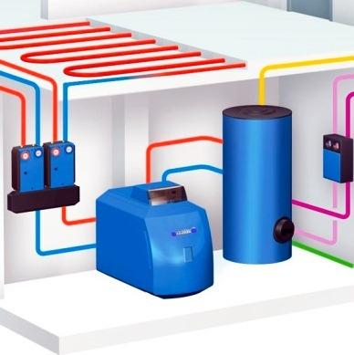 газовый агрегат с бойлером