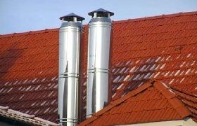 Как выбрать и установить дымоход для газовой колонки
