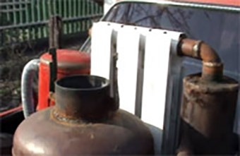 Изготовление газогенератора на дровах 5