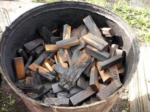 Уголь берёзовый своими руками 78