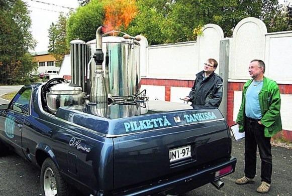 автомобиль с газовым генератором