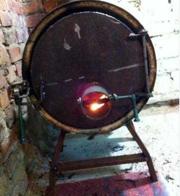 печка с регулируемой подачей воздуха