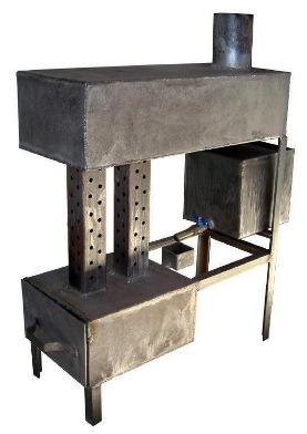 Печка на отработанном масле своими руками: чертежи для