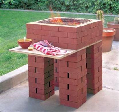 уличная садовая печь