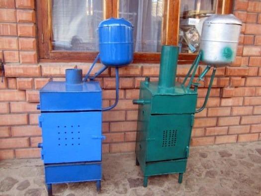 дизельная печка сделанная своими руками