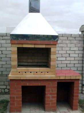 мангал для частного дома