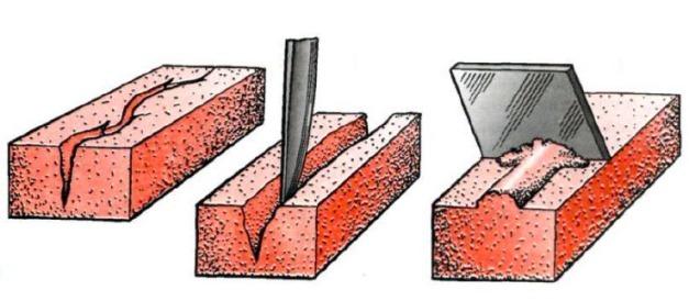 устранение трещин