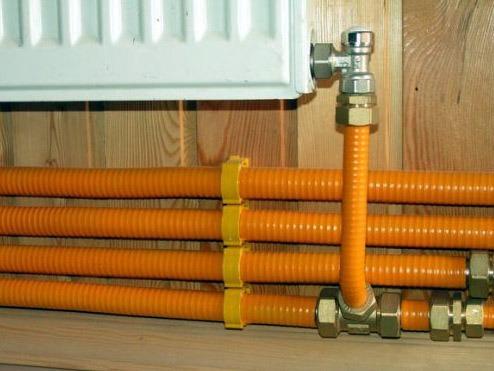 гофрированные трубы для отопления