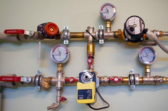 манометры для контроля давления в системе