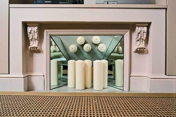 дизайн декоративного камина