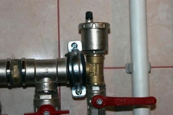автовоздухоотводчик в системе отопления