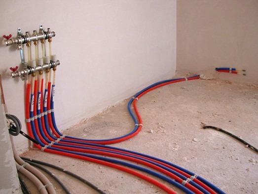 коллекторный способ подключения системы отопления