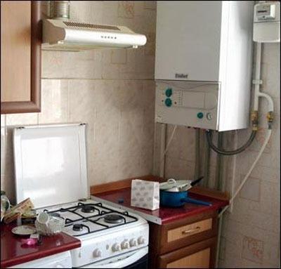 индивидуальное газовое отопление жилья