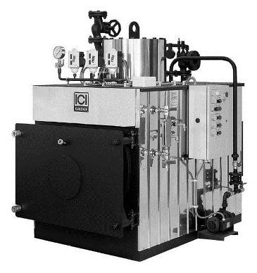 промышленный паровой генератор