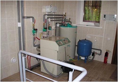 подключение расширительного бачка с системе отопления