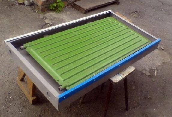 применение стального радиатора