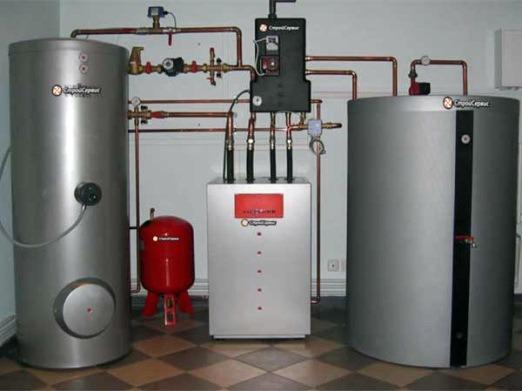 подключение бака к системе отопления