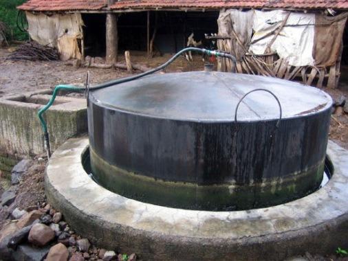 реактор для получения биогаза в домашних условиях
