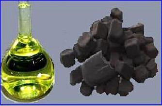 получение бензина из угля