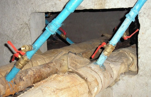 перекрытие системы отопления при аварийных ситуациях