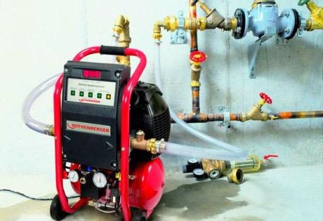 насос для опрессовки системы отопления
