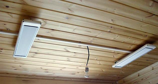 подвесной потолочный обогреватель