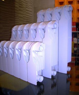 секционные алюминиевые батареи