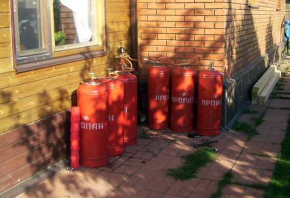 баллонный газ для обогревателя