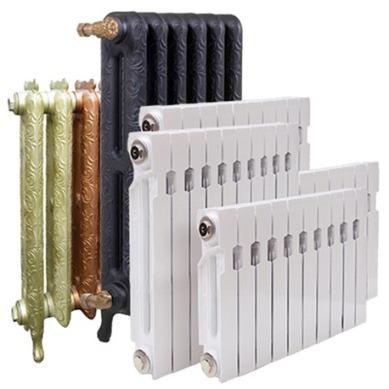 торговый ряд радиаторов отопления