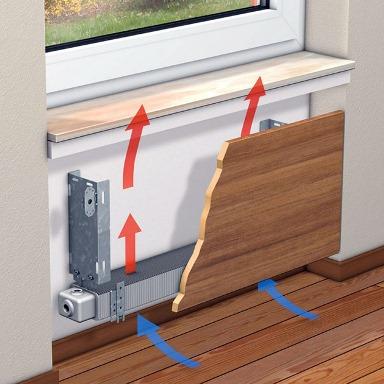 конвектор для обогрева помещения