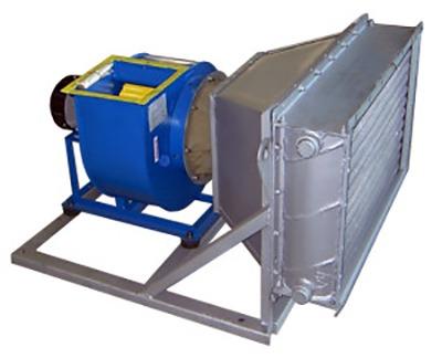 воздушные отопительные системы высокой мощности