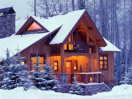 отопление бревенчатого дома