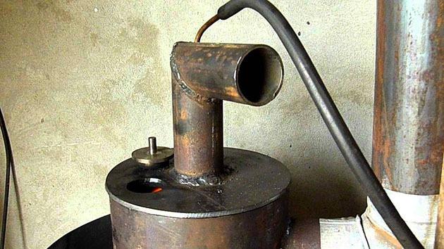 жидкотопливный агрегат для обогрева помещений