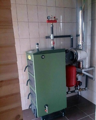 Монтаж группы безопасности в систему отопления