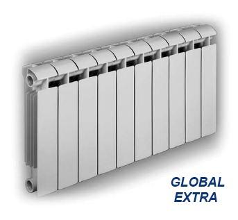 конфигурация оребрения модели Global Exstra
