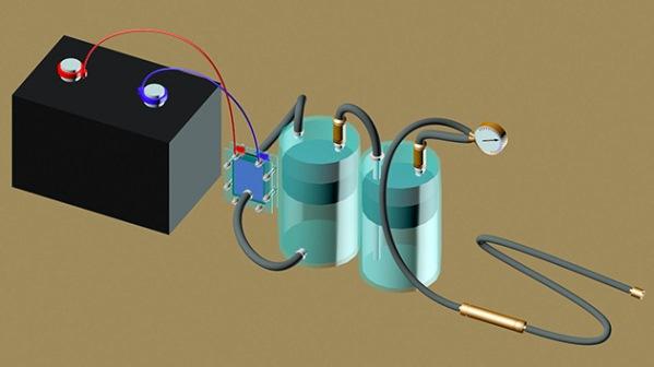 получение водородного топлива для автомобиля