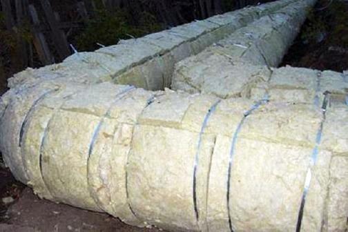 термоизоляция труб в земле