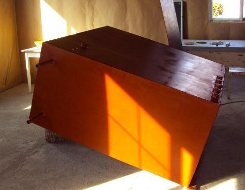самодельный тепловой аккумулятор прямоугольной формы